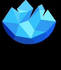 crystal siyah logo