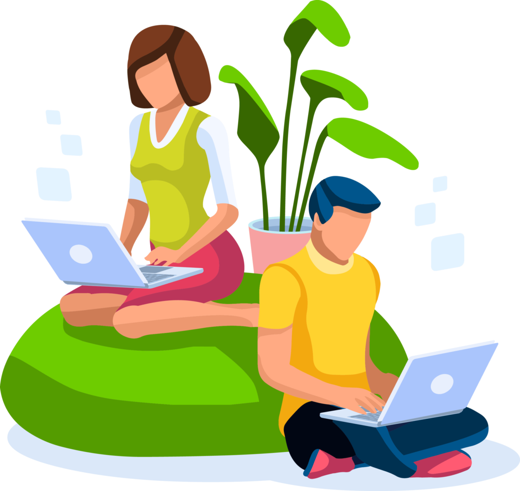 Home Office Collection Isometric People 02 min